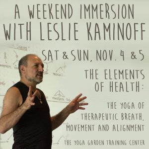Yoga Anatomy Leslie Kaminoff 39 S Esutra Blog Teaching And Touring Schedules